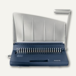 LEITZ Spiralbindegerät comBIND 300, A4/A5, manuell, 365x118x161mm, 15Bl., 13263