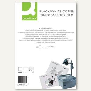 officio Kopierfolie DIN A4, klar, ohne Schutzblatt, 100 Stück