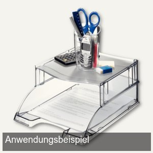 Distanzelement Plus für Briefablage Plus, grau-transparent, 6 St., 5234-00-92