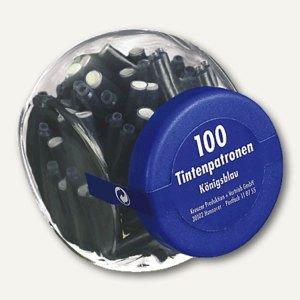 Artikelbild: Tintenpatronen im Glas blau