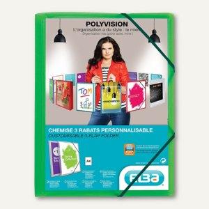 Eckspannmappe Polyvision