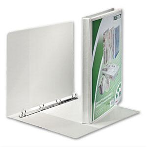 Präsentations-Ringbuch, DIN A4+, Ø 16 mm, 4-Rundringmechanik, weiß, 4282-00-01