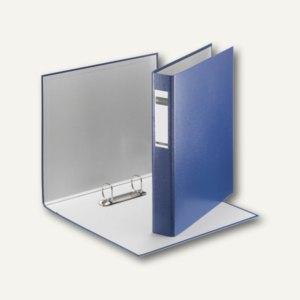 LEITZ Ringbuch Standard, DIN A4, 41 mm, 2 D-Ring-Mechanik, blau, 4210-00-35