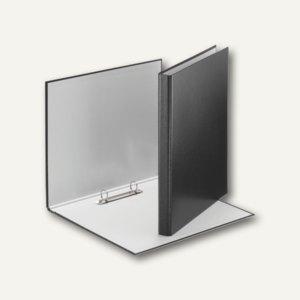 LEITZ Ringbuch Standard, DIN A4, 31 mm, 2 D-Ring-Mechanik,schwarz, 4209-00-95