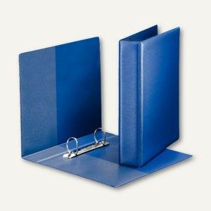 leitz premium ringbuch din a5 2 d ring softclick pp blau 4604 00 35 b roartikel bei. Black Bedroom Furniture Sets. Home Design Ideas