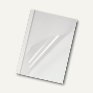 GBC Thermobindemappe DIN A4, Rücken 40 mm, weiß-matt, 50 Stück, IB370137