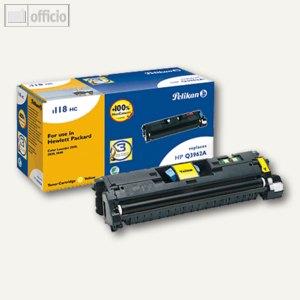 Pelikan Toner 118HC kompatibel zu HP Q3962A, gelb, 626967