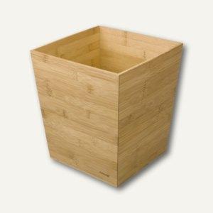 Rexel Papierkorb, 13 Liter, aus Bambus, 2102372