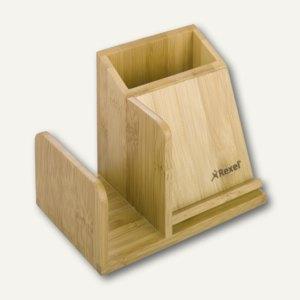 Rexel Schreibtisch-Organizer, 150x95x110mm, aus Bambus, 2102373