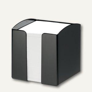 Zettelkasten TREND inkl. 800 Blatt, quadratisch, schwarz, 6 Stück, 1701682060