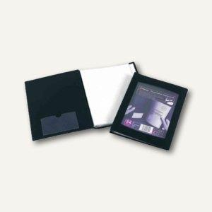 Rexel Präsentations-Sichtbuch, DIN A5, 24 Hüllen, Sichttasche, schwarz, 17435BK