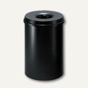 Stahl-Papierkorb mit Löschkopf