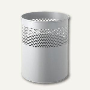 Metall-Papierkorb mit Lochdekor