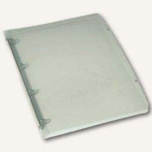 """Elba Ringbuch """"Hawai"""", DIN A4, 4-Ringe 15 mm, PP, farblos-transluzent, 100202322"""
