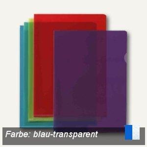 """Elba Sichthüllen """"M Star"""" A4, oben & Seite offen, PVC blau, 10 St., 100206706"""