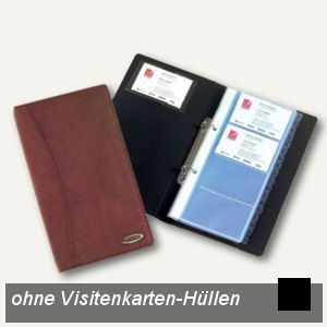 Visitenkarten-Ringbuch Soft-Touch