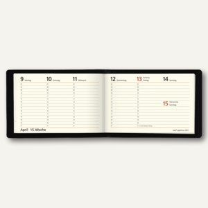Artikelbild: Quer-/Taschenkalender Septimus - 158 x 108 mm