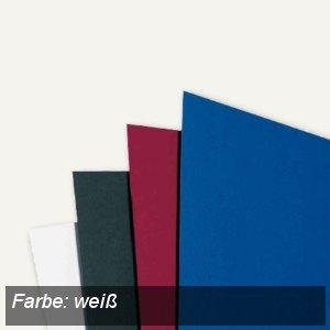 GBC Einbanddeckel LinenWeave, DIN A4, 250 g/qm, weiß, 100 Stück, CE050070
