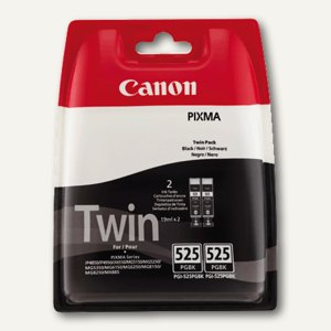Canon Tintenpatrone IP4850 black, PGI-525PGBK, 2x 19 ml, Twin-Pack, 4529B006