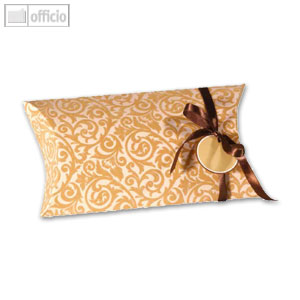 "Sigel Pillow-Box ""Velvet Ornaments"" groß, 350x60x190 mm, 5 Stück, PB006"