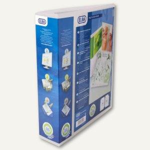 Präsentations-Ringbuch POLYVISION Maxi, transparent, 4-Ringe, DIN A4+, 70 mm, 10