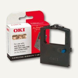 OKI Farbband Nylon ML380/385/390/391/3390/3391, schwarz, 09002309