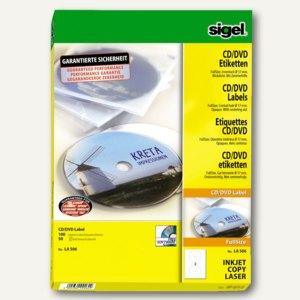 CD/DVD-Etiketten ClassicSize