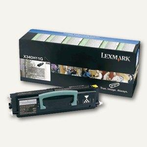 Lexmark Lasertoner für X342, schwarz, X340H11G