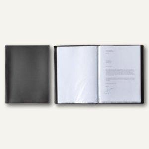 """Elba Sichtbuch """"Standard"""", DIN A4, mit 20 Hüllen, PP, 300my, schwarz, 100206094"""