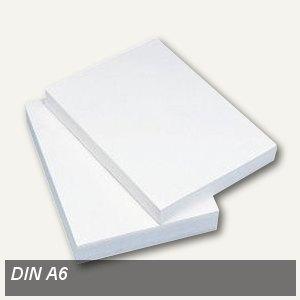 Kopierpapier DIN A6, 80 g/m², holzfrei, weiß, 2.000 Blatt