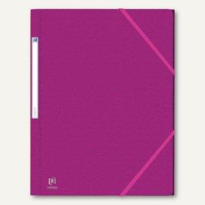 Elba Eckspannermappe EUROFOLIO, DIN A4, Karton violett, 100200755