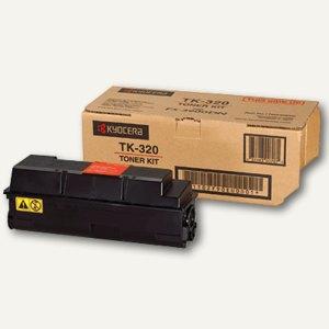 Kyocera Toner-Kit für FS-3900DN/4000DN, ca. 15.000 Seiten, schwarz, TK320