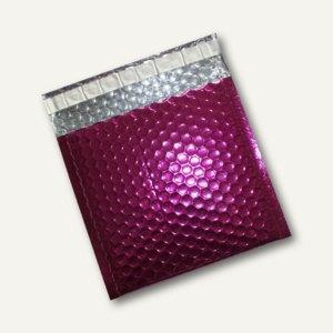 Artikelbild: CD/DVD Geschenk-Luftpolstertaschen 160x165mm haftkl. pink metallic