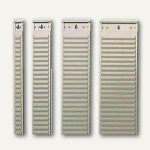 Nobo T-Kartenträger für Kartengröße 2, 54 Schlitze, 64 x 960mm, 10 St., 1900403