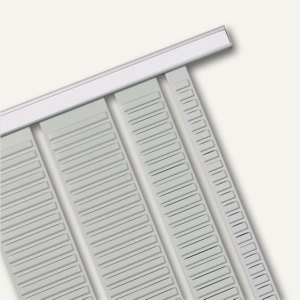 Nobo Rahmenprofil für T-Karten-Systeme, Breite: 388 mm, Metall, 2 Stück, 1900410