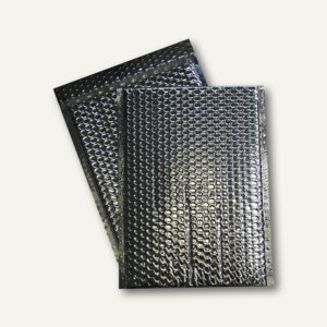 Geschenk-Luftpolstertaschen 310 x 445 mm, haftklebend, silber metallic, 50 St.