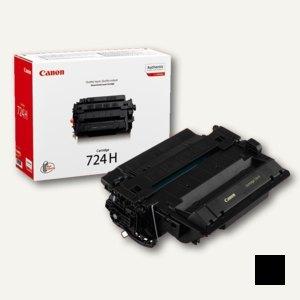 """Canon Toner LBP6750dn/3482B002, """"724H"""", schwarz, 12.500 Seiten, 3482B002"""
