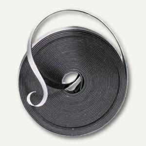 Nobo Magnetbandstreifen, 10 mm x 10 m, weiß, 1901053