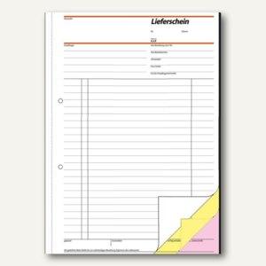 """Sigel Formularbuch""""Lieferschein mit Empfangsschein"""", DIN A4, 3x40 Blatt, SD016"""