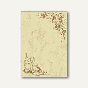 Design-Papier Weinkarte