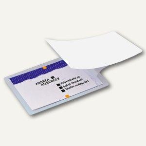 Sigel Kalt-Laminierfolie für Karten bis 85 x 55 mm, glasklar, 100 Stück, VZ215