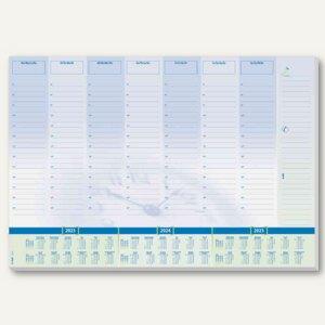 """Papier-Schreibunterlage """"Time"""" - 59,5 x 41 cm, 3-Jahres-Kalendarium, 30 Blatt, H"""