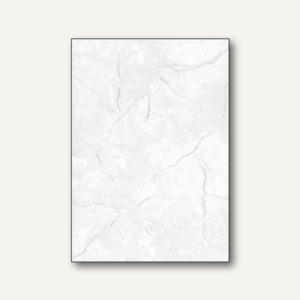 sigel Struktur-Papier, DIN A4, Granit grau, 200 g/qm, 50 Blatt, DP646