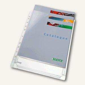 Maxi Prospekthülle Standard, DIN A4, PVC, 170my genarbt, 5 Stück, 4756-30-03