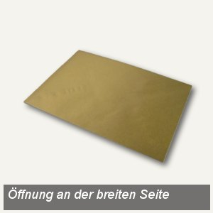 Versandtaschen DIN C4, Spitzklappe nassklebend, 100g/m² gold, 100 Stück, 1640157