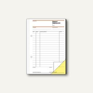 Artikelbild: Formularbuch Rapport/Regiebericht