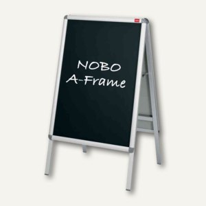 Nobo Kreidefolie für NOBO Prospektständer, DIN A1, Innenber., schwarz, 1902436