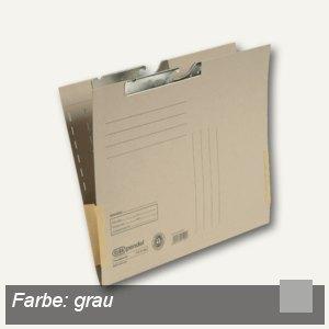 Pendeltaschen A4, Kartonfrösche, Metallhänger, grau, Manila, 50St., 100570031