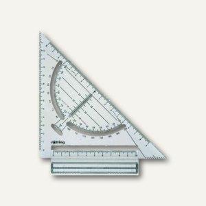 Rotring Schnell-Zeichendreieck, Hypotenuse: 150 mm, Kunststoff, S0232240