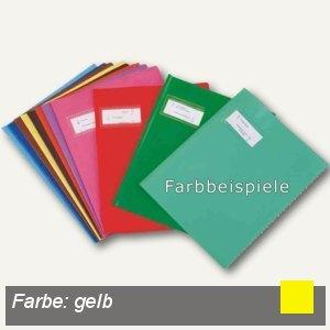 """Elba Heftschoner """"Styl'SMS"""" DIN A4, PVC, gelb, 25 Stück, 400021219"""